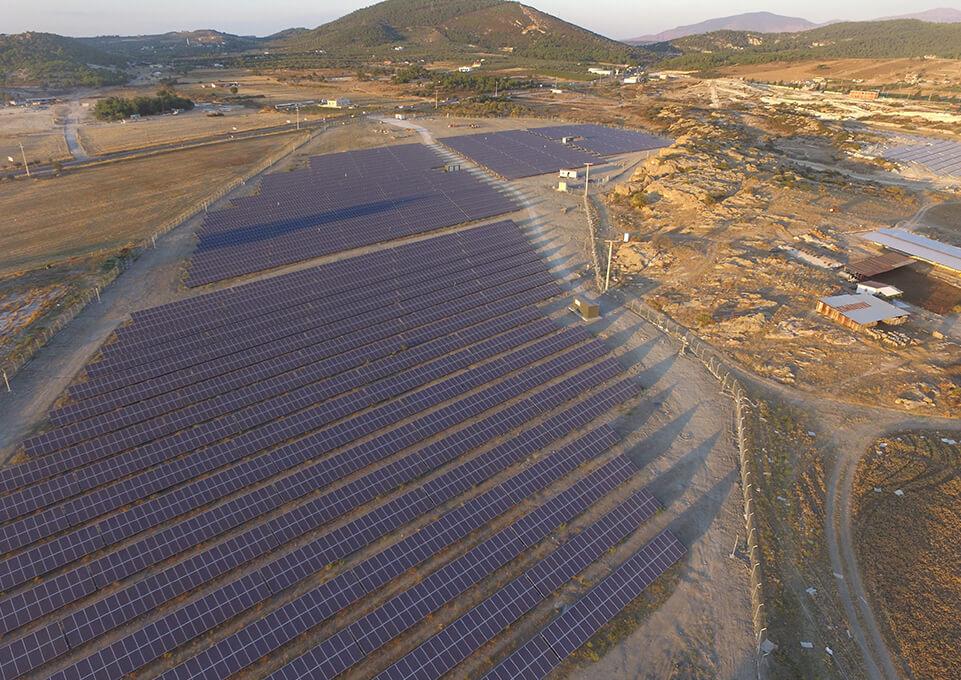 Foça – İzmir 4 MW Güneş Enerjisi Sistemi