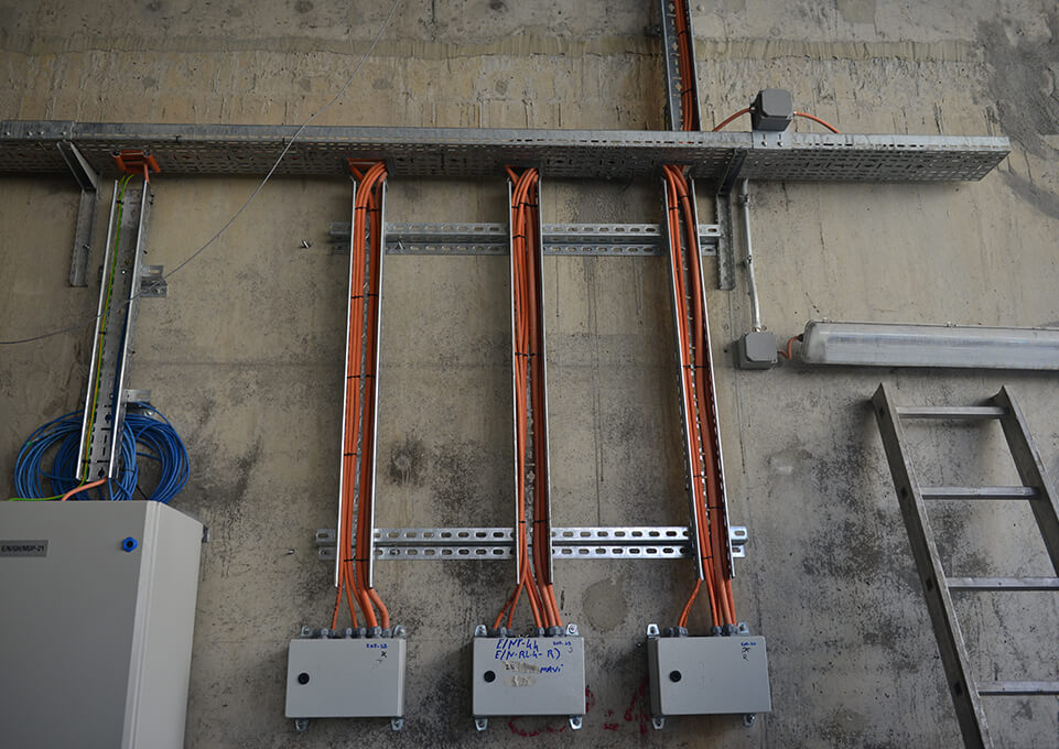3. Boğaz Köprüsü Elektrik Sistem Montajı