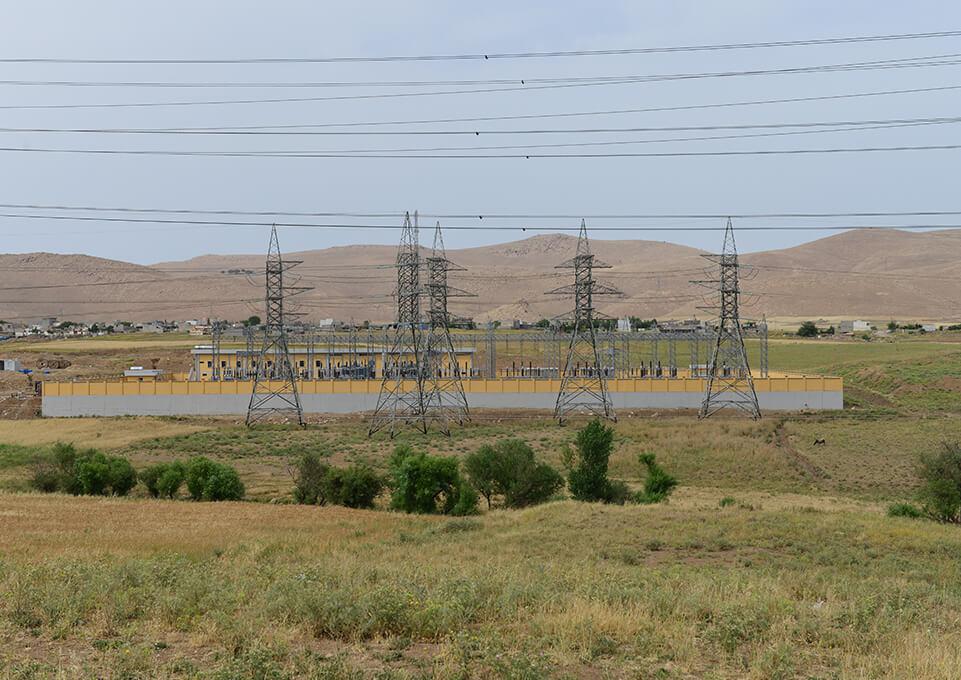 Irak Barda Qaraman ve Quala Reisi Trafo Merkezleri Elektrik Montajı